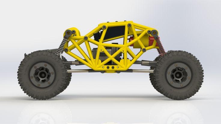 3D-Printed Scorpion Micro-Crawler in 2020   Crawlers