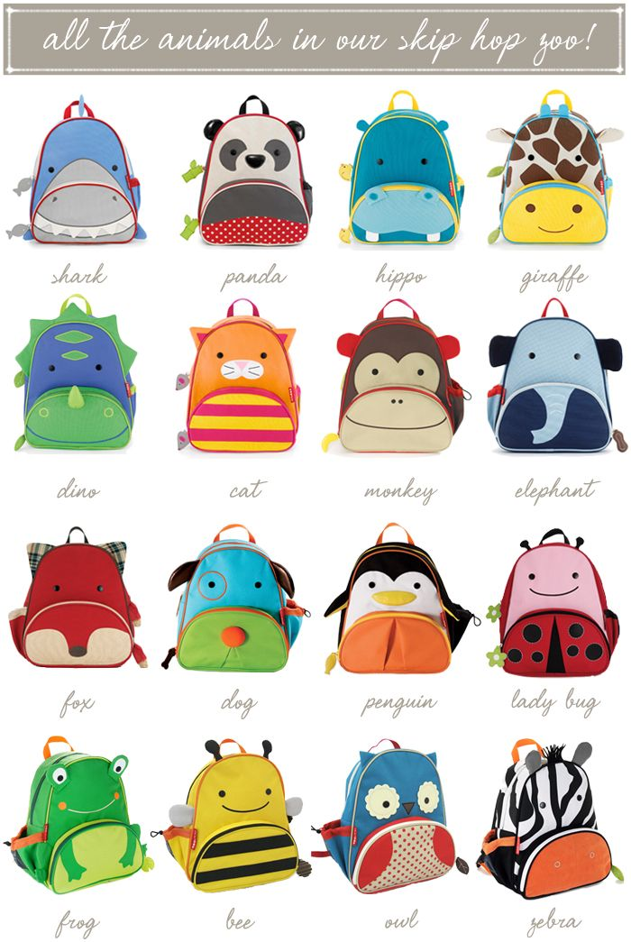 Go Back to School with Skip Hop! I absolutely love these backpacks!! :) These are great for kid-sized daypacks too!