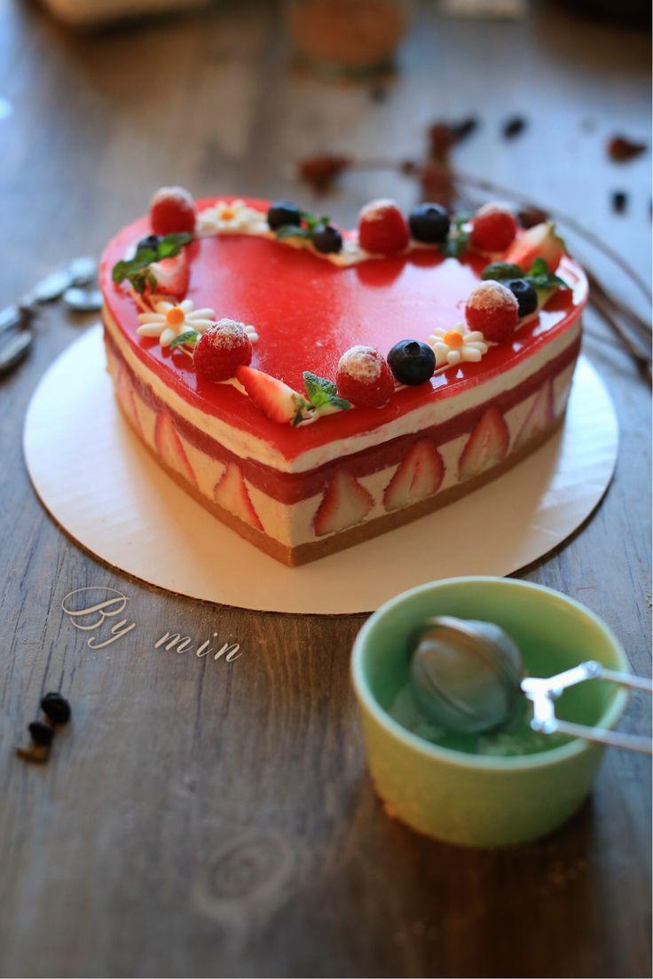 Strawberry Bavarois