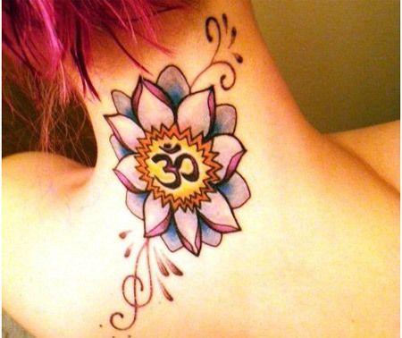 om és lótusz tetoválás jelentése