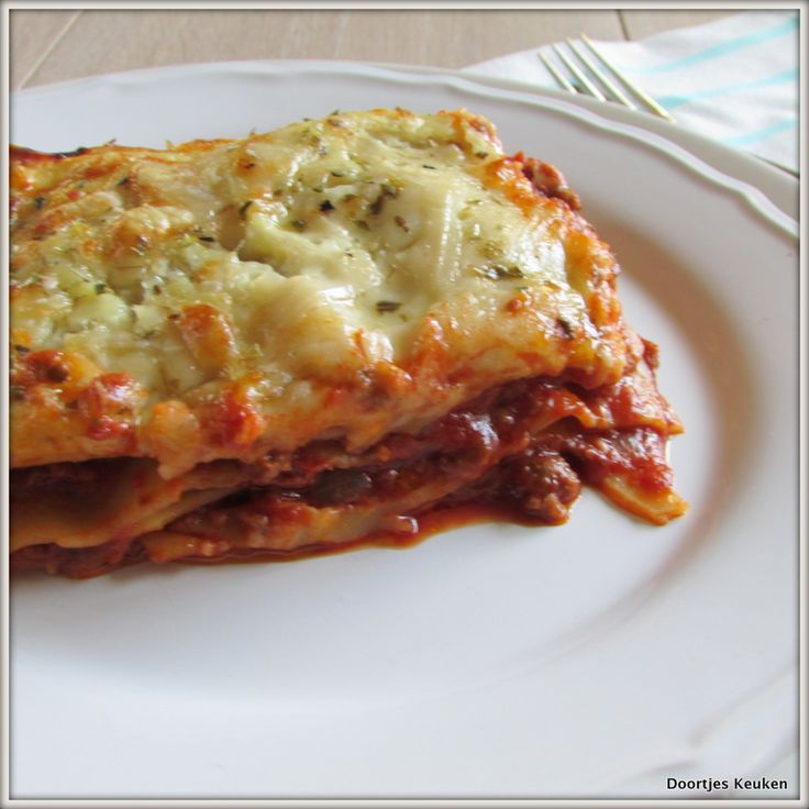 Het recept wat ik keer op keer gebruik voor zelfgemaakte verse lasagne die ik persoonlijk het lekkerste vind!