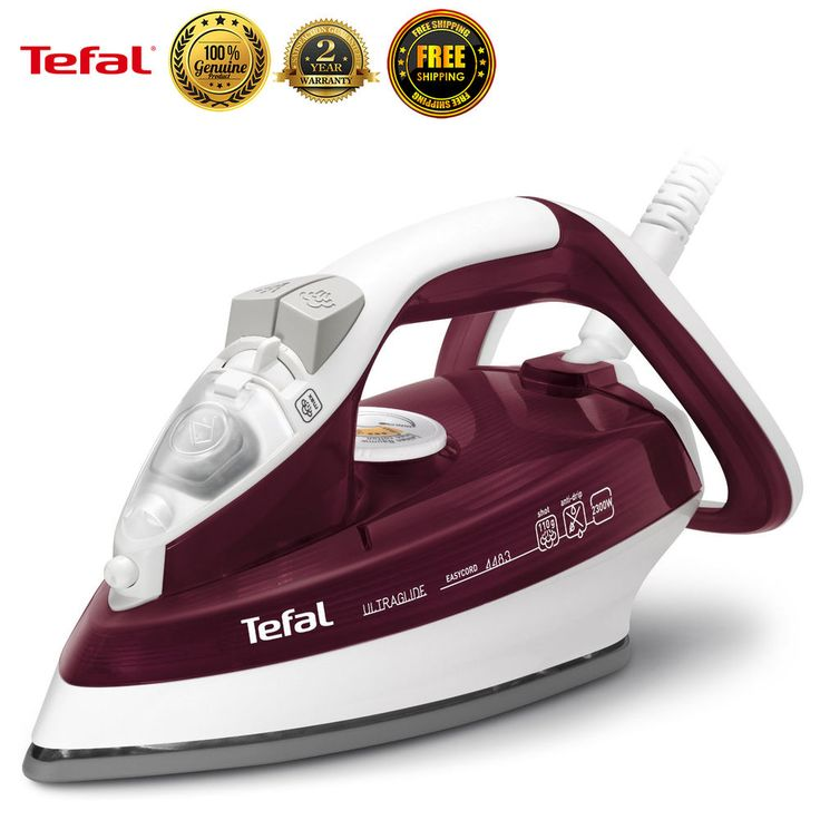 Tefal FV4483 Garment Steamer Fabric Powerful Steam Iron Clothes Laundry New #Tefal