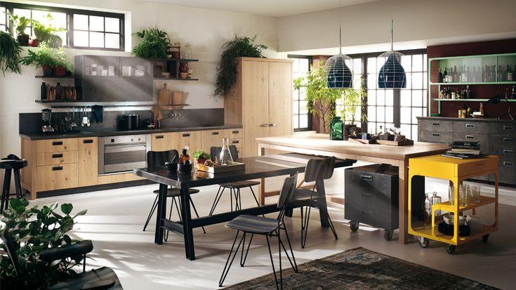 iSaloni 2014. Кухня от Diesel в ярком индустриальном стиле