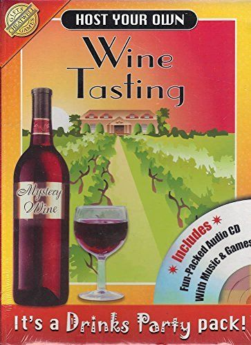 Host Your Own Wine Tasting~ It's a Drinks Party Pack from Cheatwell Games and Gifts (UK Import): L'article Host Your Own Wine Tasting~ It's…
