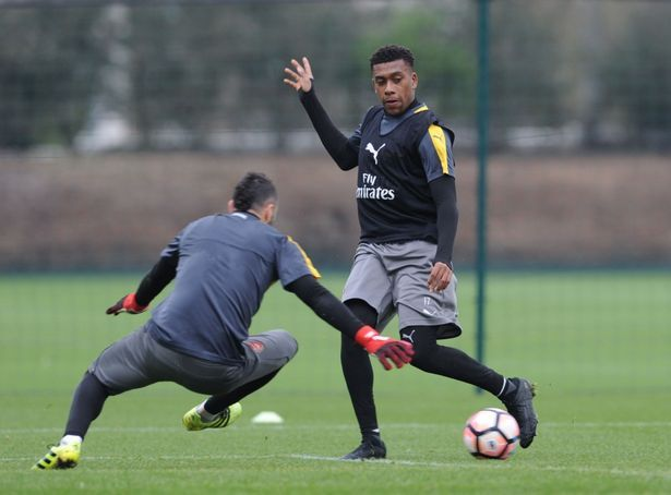 nice Alex Iwobi and Danny Welbeck doubts for Lincoln City game as Arsene Wenger admits 'sickness bug' at Arsenal