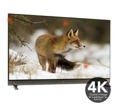 "V écran plat LED 3D 55"" LG 55LA965V 4K 3D 1000Hz MCI prix promo Boulanger 1 999.00 € TTC"