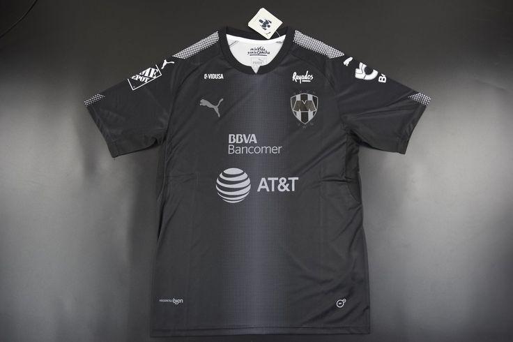 Adult Monterrey FC Away Black jerseys 2017/18