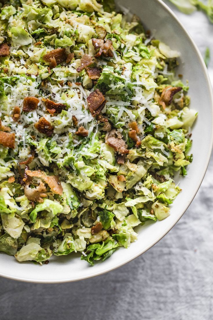 Shredded Brussel Sprout Salad!