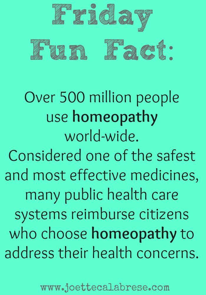 Homeopathy: An Effective Medicine. ~joettecalabrese.com