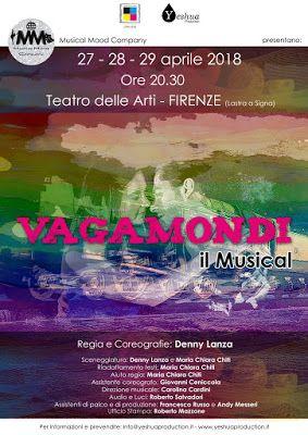VAGAMONDI IL MUSICAL - DEBUTTO AL TEATRO DELLE ARTI