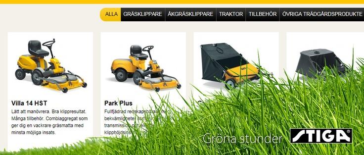 Stigas kampanjssajter Gröna Stunder och Grønne glæder är byggda i Drupal på två språk. På sajterna får besökaren en tydlig överblick över produkterna, kan läsa mer och enkelt beställa produkter från närmaste återförsäljare.