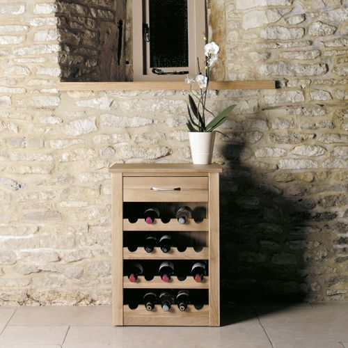 Mobel Oak Wine Rack Lamp Table #oak #furniture #home #decor #interior #inspiration #traditional #diningroom #livingroom #lounge #lamp #table #winerack