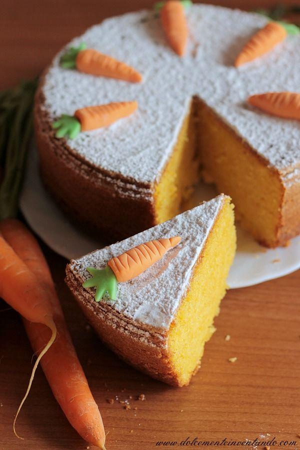 Tutti amano la torta di carote, questa è nata da un'improvvisazione e l'ho rifatta perché è piaciuta tantissimo.  Voi avete voglia di prova...