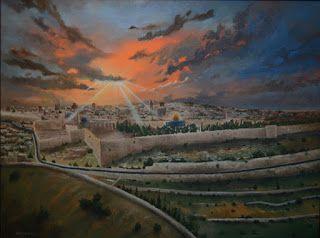 Jassar's Blog: Jerusalem Painting