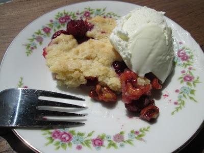Through Grandma's Cookbook: Cranberry Fruit Cobbler