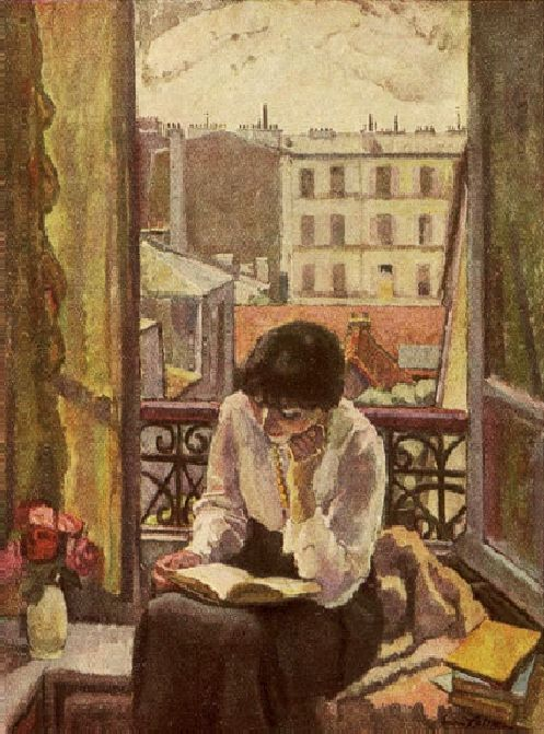 'Reader', 1921 - Eugen Spiro