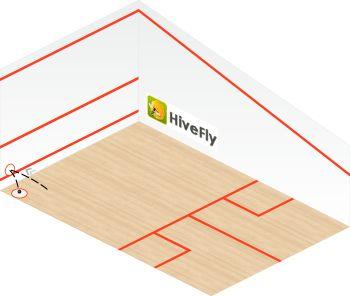 counter drop diagram