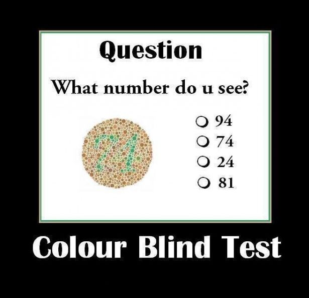 Lets Color Blind Test~ What number do you see guys ?   #Help #student #study #assignment #work