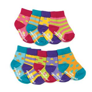 miss matched socks   Little Miss Matched Socks   Bambino Goodies