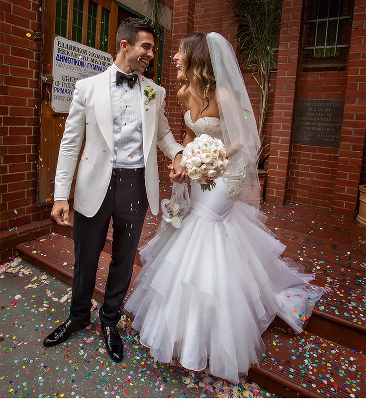 Fashion-Inspired Wedding in Melbourne, Australia - Be inspired by Vicki & Stephen's luxurious and fashionable wedding in Melbourne, Australia #wedding #luxury #couture #fashion #inspired #melbourne #australia #greek #orthodox #just #married #bride #groom #husband #wife #confetti