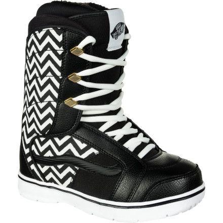 Vans Hi-Standard Snowboard Boot - Black/Chevron $143.96