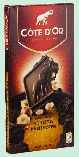 COTE D'OR chocolat fondant noisette entière 200gr
