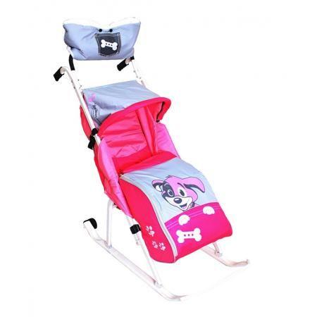 """RT Санки-коляска Комфорт Люкс 11  — 4899р. --------------------- Санки-коляска """"Комфорт Люкс 11"""" """"Любопытный щенок""""розовогоцвета маркиRT, для девочек. Удобным и незаменимым видом транспорта зимой для малышей являютсясанки-коляска """"Комфорт Люкс 11"""" с двумя колесиками.Обшивка санок-коляски розовогоцвета с серымивставками, декорированная симпатичным принтом, выполнена из непродуваемого и водоотталкивающего материала с пропиткой, атеплый съемный чехол для ножек крепится на липучках по…"""