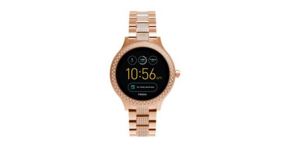A smartwatch that (actually) looks the part. With a new full-round digital display, our Q Venture offers multiple features like customizable faces, discreet notifications and automatic activity tracking to help make your life easier—and a bit more stylish.Powered by Android Wear™ 2.0, Fossil Q Venture is compatible with phones running Android™ 4.3  or iOS 9 . Supported features may vary by platform. Android and Android Wear are trademarks of Google Inc.