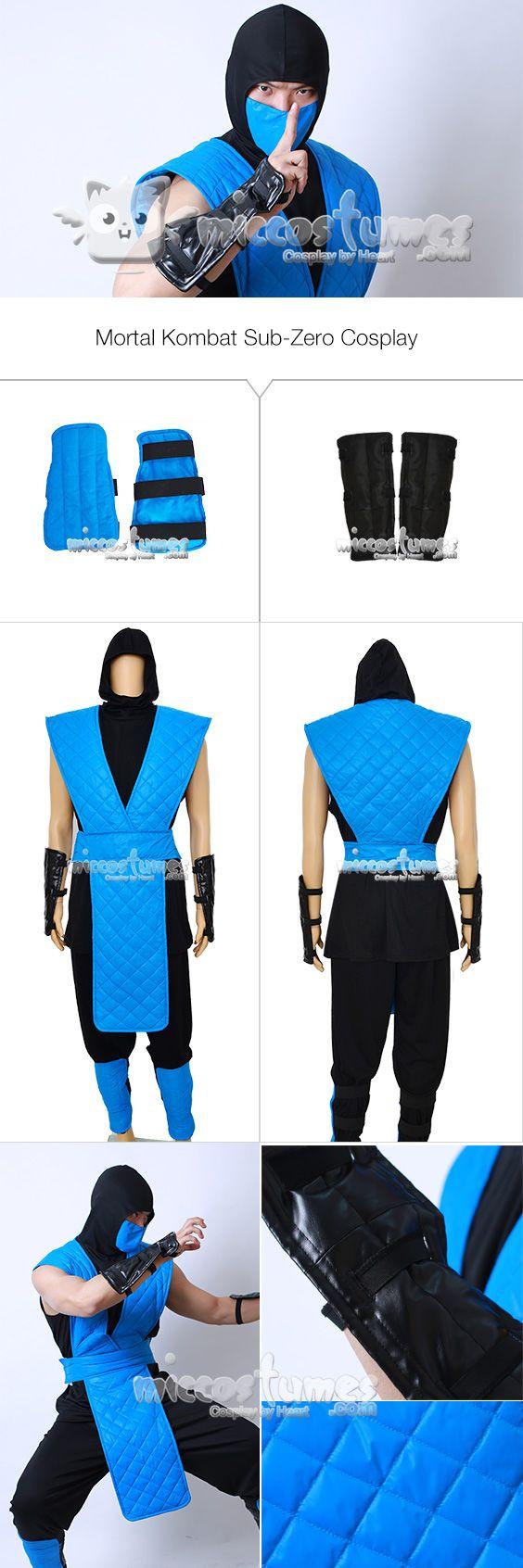 More details of Mortal Kombat Sub-Zero Cosplay Costume  #cosplay #miccostumes #mortalkombat #subzero #cosplaycostume #ninja