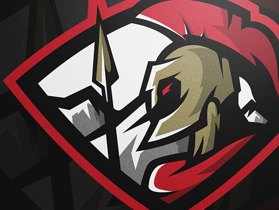 Spartan by Mike Charles - 60 Incredible Spartan Logo Designs for Inspiration|iBrandStudio