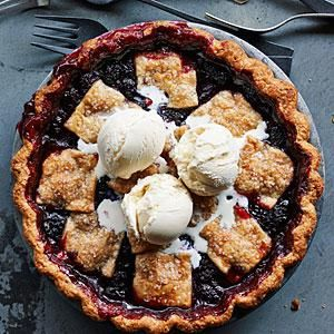 At a little bakery in the eastern Cascades, you'll find this amazing pie, which has a shortbread-like crust and a Northwest berry filling.