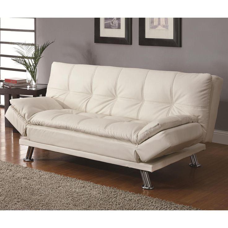 Coaster Company Transitional Sofa Bed (White)