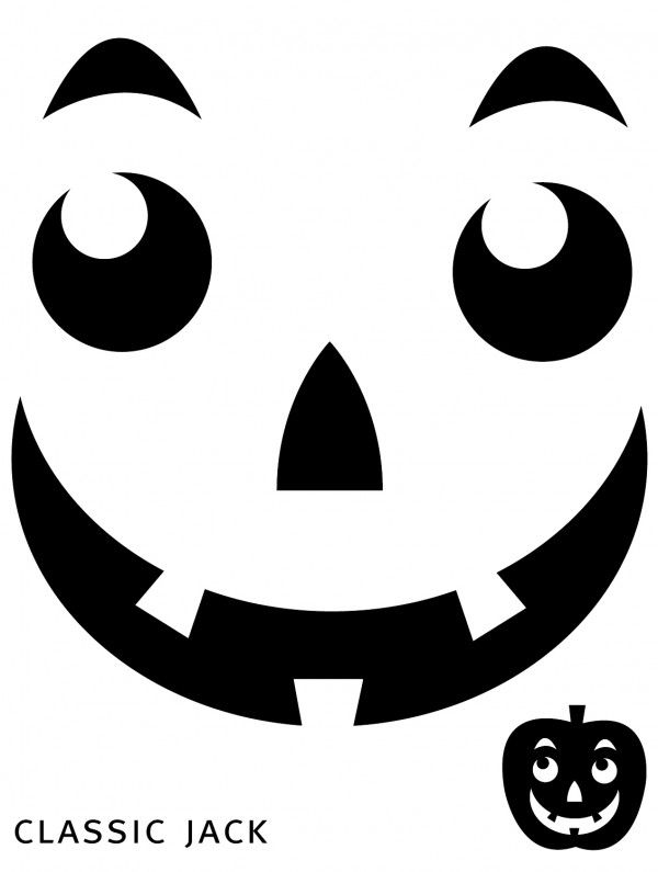 astounding pumpkin templates printable for jack o lantern patterns - Halloween Decorations Printable