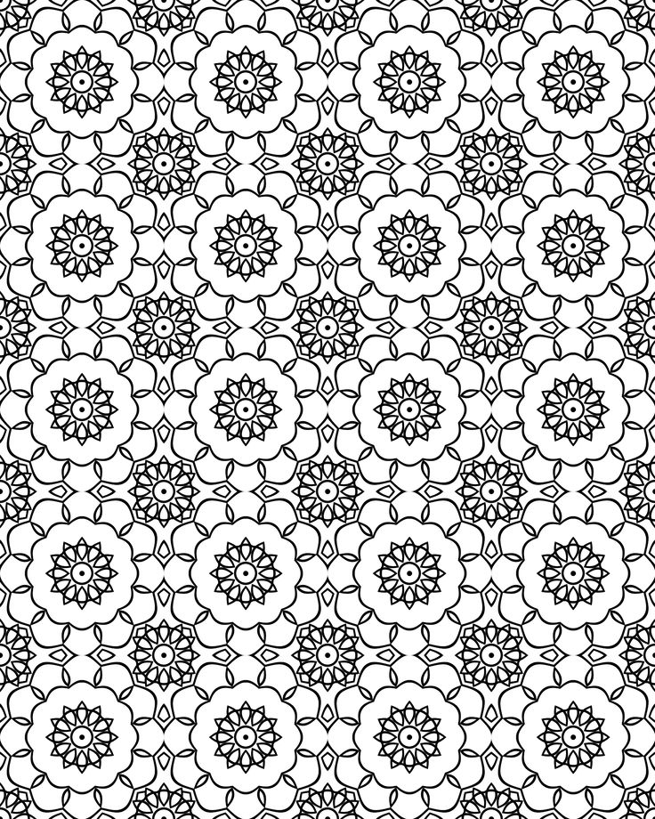 Pattern Coloring Sheets Printables : 191 best livros colorir adultos images on pinterest