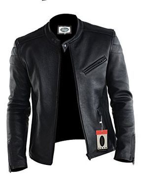 Laverapelle Mens Lamb skin Real Leather Jacket Black 1510008 *** You can get more details by clicking on the image.