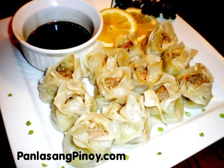 Siomai is a traditional Chinese dumpling. This popular dumpling has made its way to the heart of the Filipinos as evidenced by the hundreds of stalls, eateries, and restaurants who serve them. Traditionally cooked through steaming, siomai nowadays are also served fried complimented with soy sauce and calamansi. In Manila, the best siomai can be