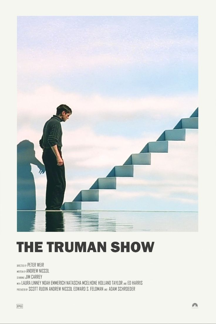 The Truman Show alternative movie poster Visit my Store