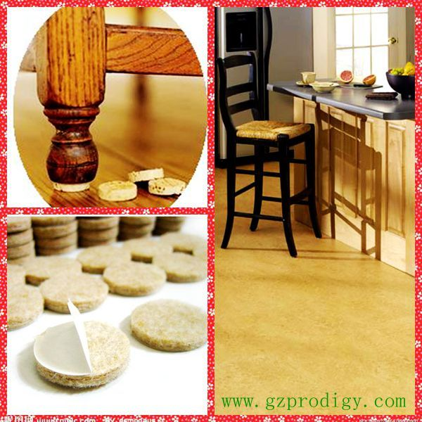 Furniture Floor Protector Pads. EVA/ Felt/ Cork/ Artificial Wool Material  For Choice