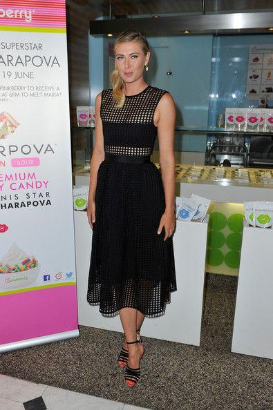 Maria Sharapova Photos: Maria Sharapova Teams Up with Pinkberry