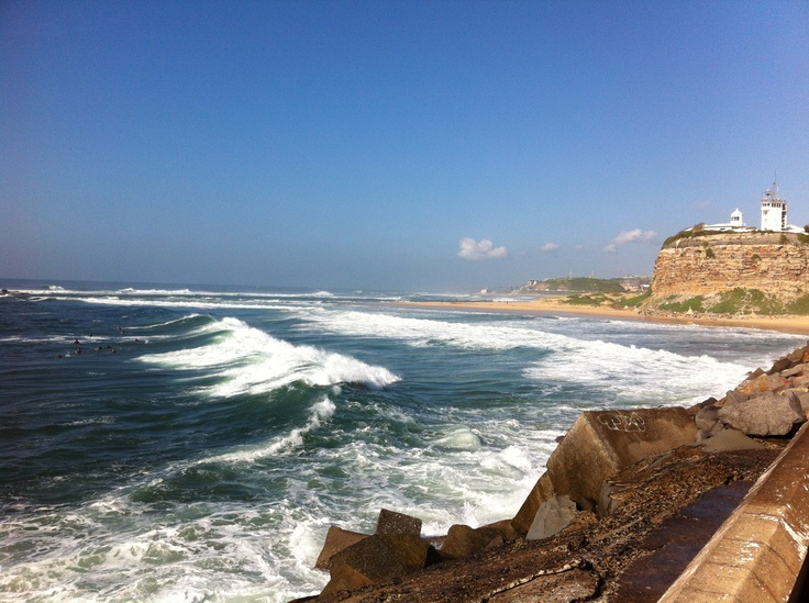 Nobbys Headland. 9.30am on Saturday 16 March 2013. A gorgeous morning. A fantastic walk from Newcastle Beach and back.