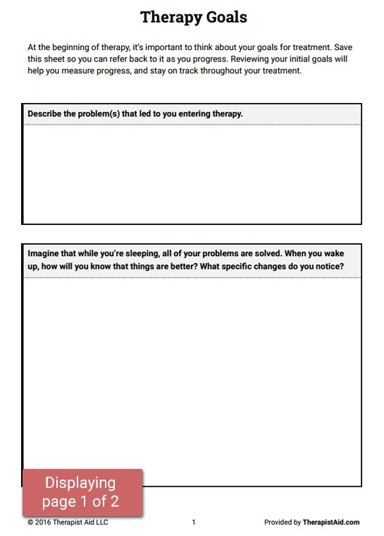 Printables Therapist Worksheets 1000 ideas about therapy worksheets on pinterest behavioral and worksheets