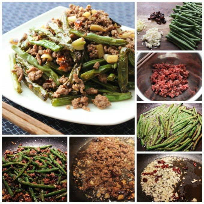 Spicy Ground Beef And Green Beans Recipe Beef And Green Beans Recipe Vegetable Dishes Green Beans