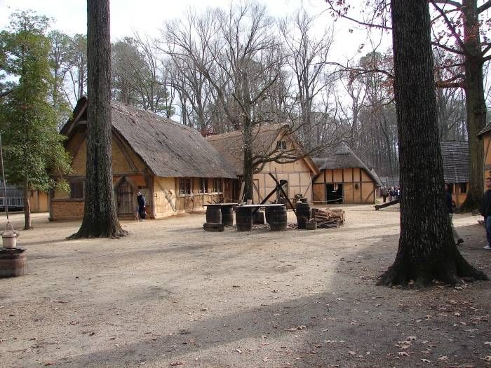 Jamestown Virginia. From the beginning. Seeing and hearing are two different things. I loved the seeing so much more.