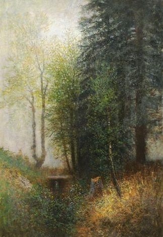 Forest by LászlóMednyánszky