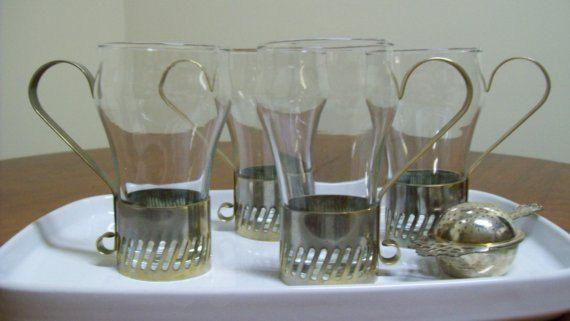 Vintage Soda Fountain Glasses by sallykramer on Etsy