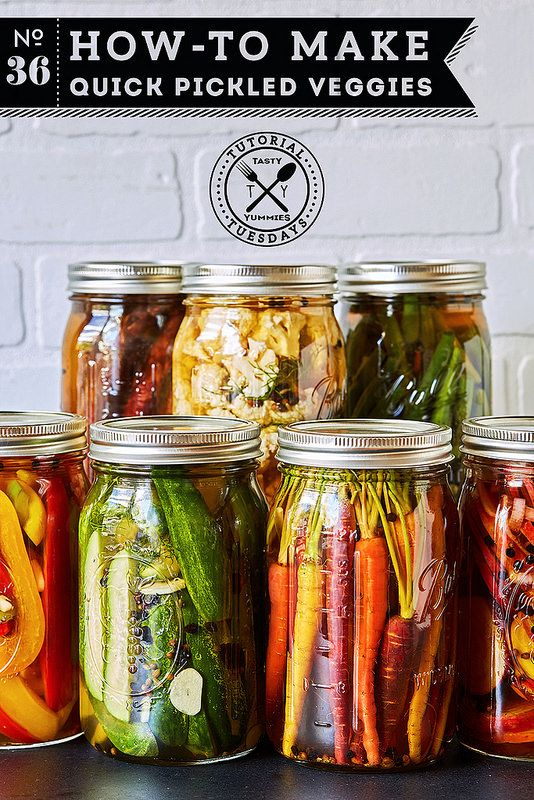 How-to Make Quick Pickled Veggies // @tastyyummies // www.tasty-yummies.com