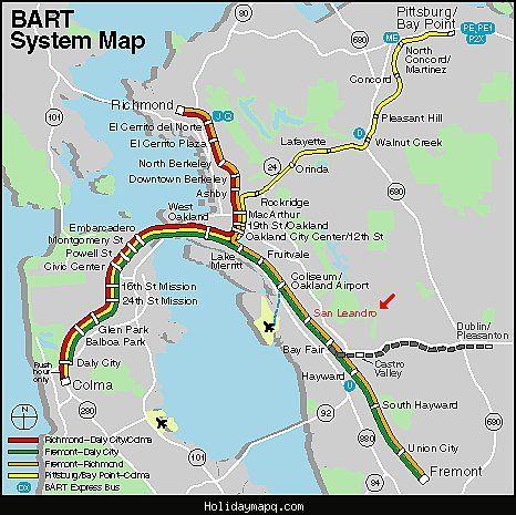 san francisco subway map pdf