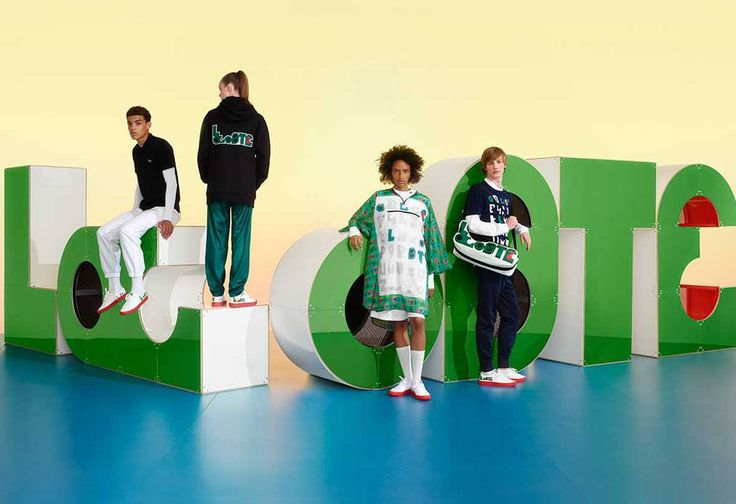 Lacoste Gave Its Iconic Crocodile Logo a Snappy Makeover for New Capsule Collection  ||  Design duo M/M Paris has reconfigured the label's famous crocodile logo on polo shirts and sneakers with bright red soles. http://footwearnews.com/2017/fashion/news/lacoste-mm-paris-new-logo-448357/?utm_campaign=crowdfire&utm_content=crowdfire&utm_medium=social&utm_source=pinterest