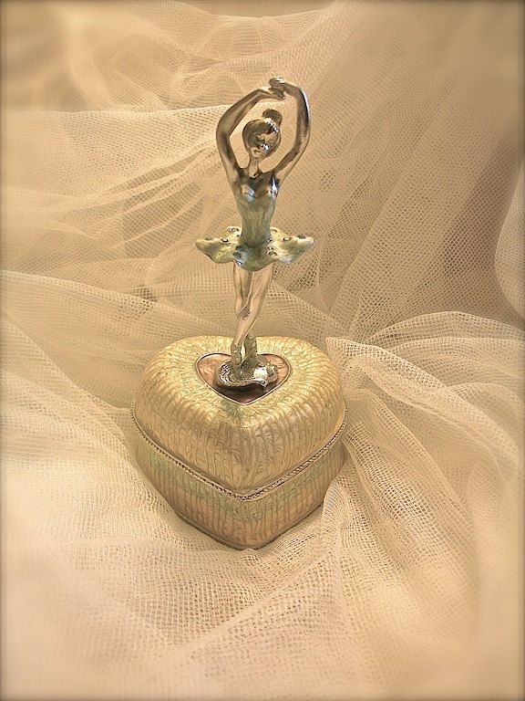 Vintage Ballerina Jewelry Box Ballerina Ballerina Decor