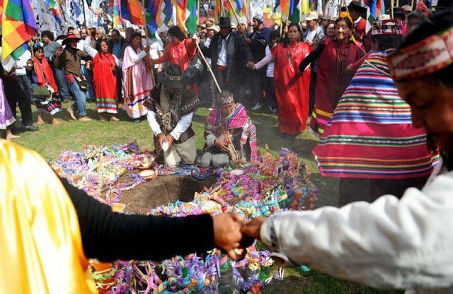 Fogón Rural  : Día de la Pachamama 01.08.2015 La Pachamama es la...